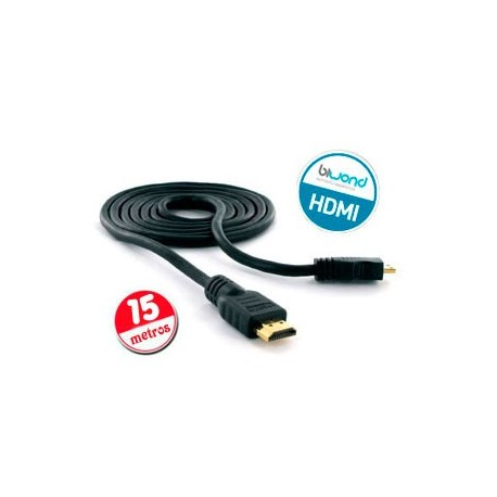Cable HDMI v1.4 Biwond 15m (26AWG)