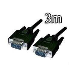 Cable VGA HDB15/M-HDB15/M, 3.0 M Biwond