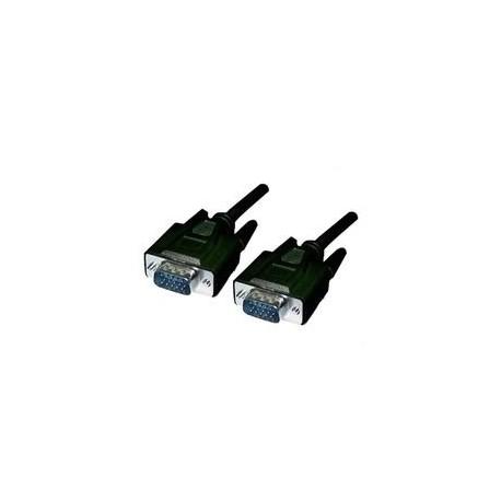 Cable VGA HDB15/M-HDB15/M, 1M