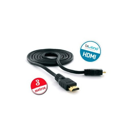 Cable HDMI v1.4 Biwond 3m