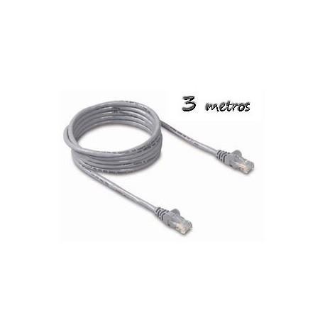 Cable Ethernet 3m Cat5e