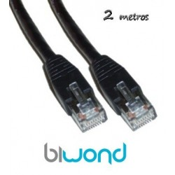 Cable Ethernet 2m Cat 5 BIWOND