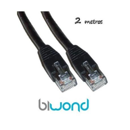 Cable Ethernet 2m Cat 5 BIWOND