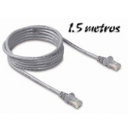 Cable Ethernet 1.5m Cat5e UTP