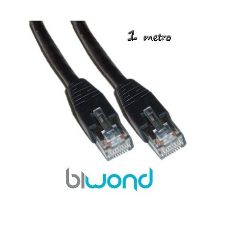 Cable Ethernet 1m Cat 6 BIWOND