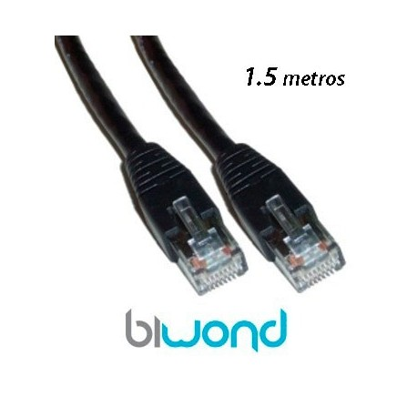 Cable Ethernet 1.5m Cat 5 BIWOND