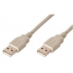 CABLE USB 2.0 2M, TIPO A/M-A/M