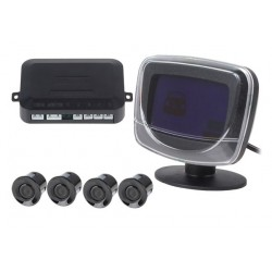 Kit Sensor Aparcamiento (4 Sensores+Pantalla LCD Visualizacion)