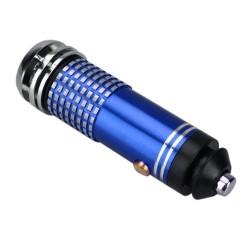 Purificador Ionizador Aire Coche Azul
