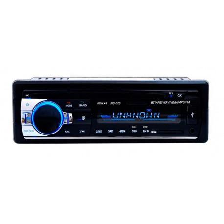 Radio FM MP3 Bluetooth USB 60W Coche