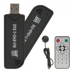 Receptor USB Mini Digital TV-DVBT + Mando y Antena