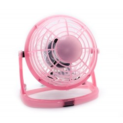 Ventilador Cool PC USB Rosa