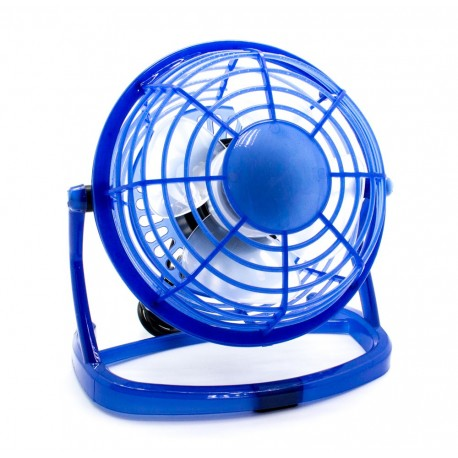 Ventilador Cool PC USB Azul