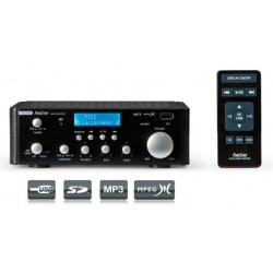 Amplificador estereo hifi fonestar as-24u 15w+15w