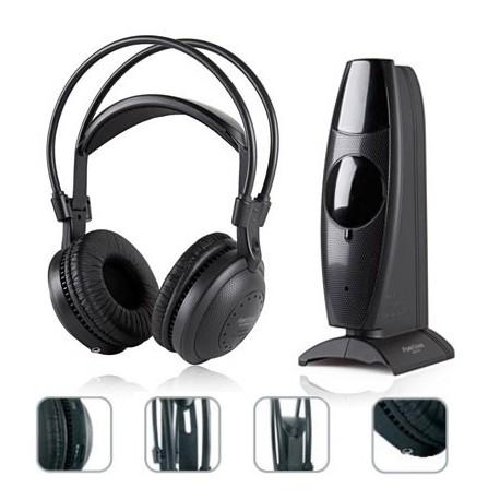 Auriculares Inalámbrico FA-8060 Fonestar Negro