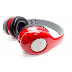 Auricular Estéreo+Micrófono DM-4900 Rojo