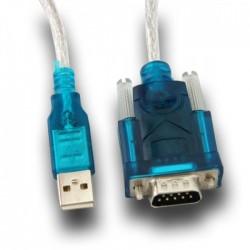 ADAPTADOR USB A SERIE RS232 + CABLE L-LINK