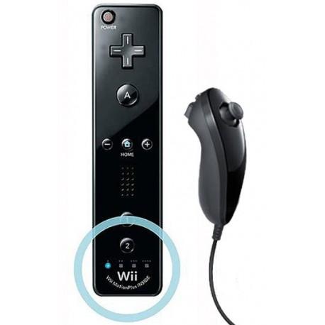 Mando Wii Plus Negro
