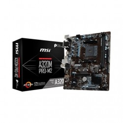 PLACA BASE MSI AM4 A320M PRO-M2