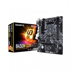 PLACA BASE GIGABYTE AM4 B450M S2H