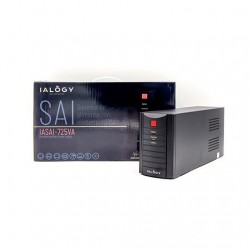 SAI/UPS 725VA IALOGY IAPOWERS725 2XSCHUKO LED INDCA.