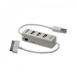CARGADOR UNIVERSAL KL-TECH APPLE IPHONE/IPAD + HUB