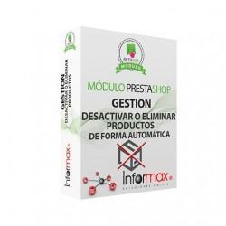 MÓDULO PRESTASHOP INFORMAX DESACTIVAR/ELIMINAR PRODUCTOS