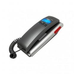 TELEFONO FIJO MAXCOM FIXED PHONE KTX400 NEGRO