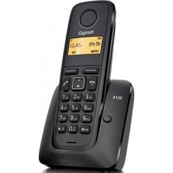 TELEFONO INALAMBRICO DECT DIGITAL GIGASET A120 NEGRO