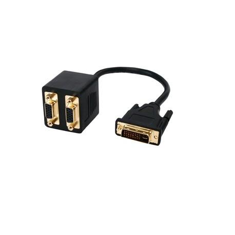 Cable Adaptador DVI a 2xVGA M/2H