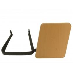 Pala escritura de madera diestro sillas confidentes T18
