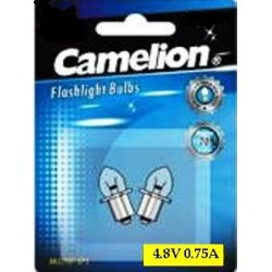 "Bombilla Recambio ""Krypton"" BK4 / 75P Camelion"