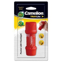 Linterna TravLite Led 3xAAA Camelion