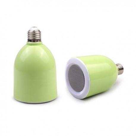 Lampara LED Altavoz Bluetooth Verde