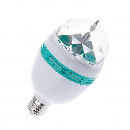 Bombilla LED E27 3W - Luces Giratorias