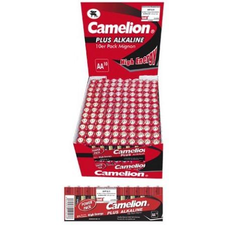 Plus Alcalina AA 1.5V (24 Packs*10 Pilas) Camelion