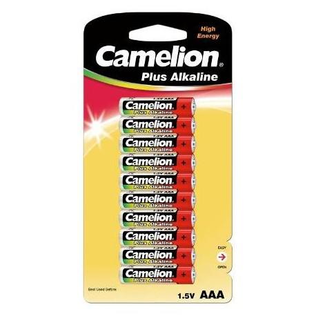 Plus Alcalina AAA 1.5V (10 pcs) Camelion