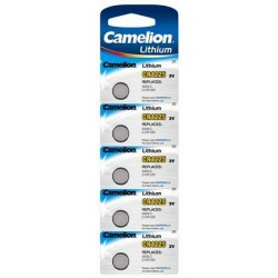 Boton Litio CR1225 3V (5 pcs) Camelion