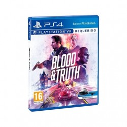 JUEGO SONY PS4 VR BLOOD AND TRUTH VR