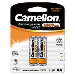 Recargable AA 2500mAh (2 pcs) Camelion