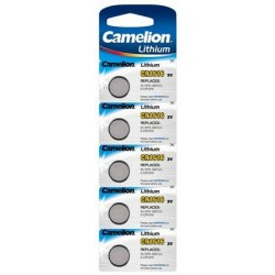 Boton Litio CR1616 3V (5 pcs) Camelion
