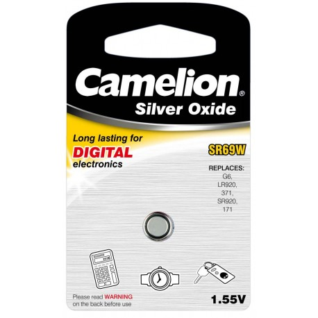 Boton Oxido plata SR69W 1.55V (1 pcs) Camelion