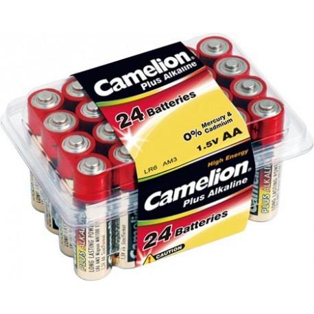 Plus Alcalina AA 1.5V (24 pcs) Camelion