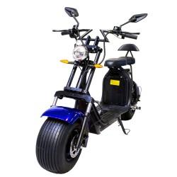 CityCoco (8) 2000W/18.2aH (Doble Batería) Azul/Negro (Version XI)