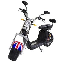 CityCoco Plus 2000W/18.2aH (Doble Batería) Bandera Británica