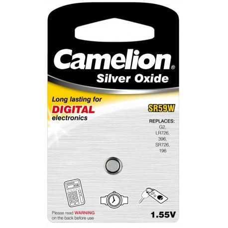 Boton Oxido plata SR59W 1.55V (1 pcs) Camelion