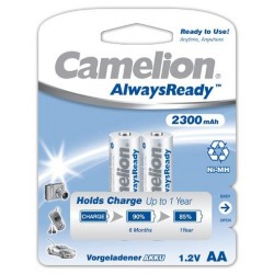 "Recargable ""Always Ready"" AA 2300mAh (2 pcs) Camelion"