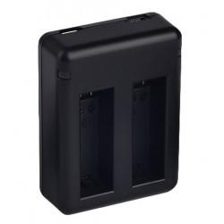 Cargador Doble Bateria Go Pro 4
