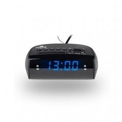 RADIO DESPERTADOR NGS SUNRISE HIT NEGRO FM / SLEEP / PANTALLA LED AZUL / SUNRISEHIT