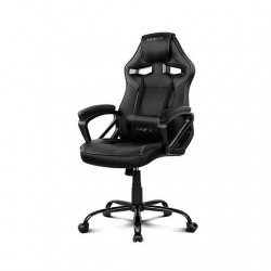 SILLA GAMING DRIFT DR50B NEGRO INCLUYE COJINES CERVICAL Y LUMBAR DR50B